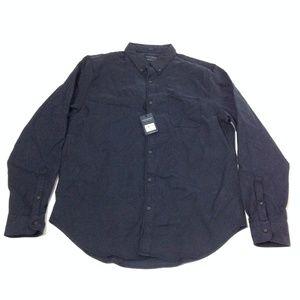New Lucky Brand Men's Dress Shirt Cotton Blend L